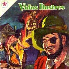 Tebeos: NOVARO (VIDAS ILUSTRES) Nº 38 DE ENCUADERNACION. Lote 194220333
