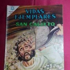 Tebeos: VIDAS EJEMPLARES. N° 225 EDITORIAL NOVARO. Lote 194242666
