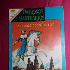 Tebeos: PATRONOS Y SANTUARIOS. N° 9. EDITORIAL NOVARO. Lote 194249745