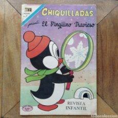 Tebeos: CHIQUILLADAS EL PINGÜINO TRAVIESO N 293 NOVARO. Lote 194284323