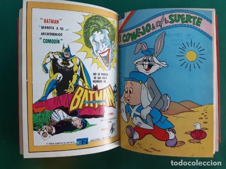 TOMO CON 16 NOVARO-EXCELENTE ESTADO-VER FOTOGRAFIAS-SERIE AGUILA- (Tebeos y Comics - Novaro - Otros)