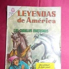 Tebeos: LEYENDAS DE AMERICA. N° 125. EDITORIAL NOVARO. Lote 194303608