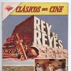 Tebeos: 1962 CLASICOS DEL CINE # 81 NOVARO REY DE REYES JESUS DE NAZARET EXCELENTE ESTADO. Lote 194341248