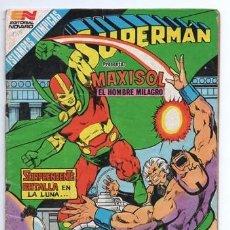Tebeos: 1985 SUPERMAN # 1508 MAXISOL BARDA OBERON SUPERMAN Y LA TARJETA DE CREDITO CATASTROFICA MUY BUEN EST. Lote 194342486