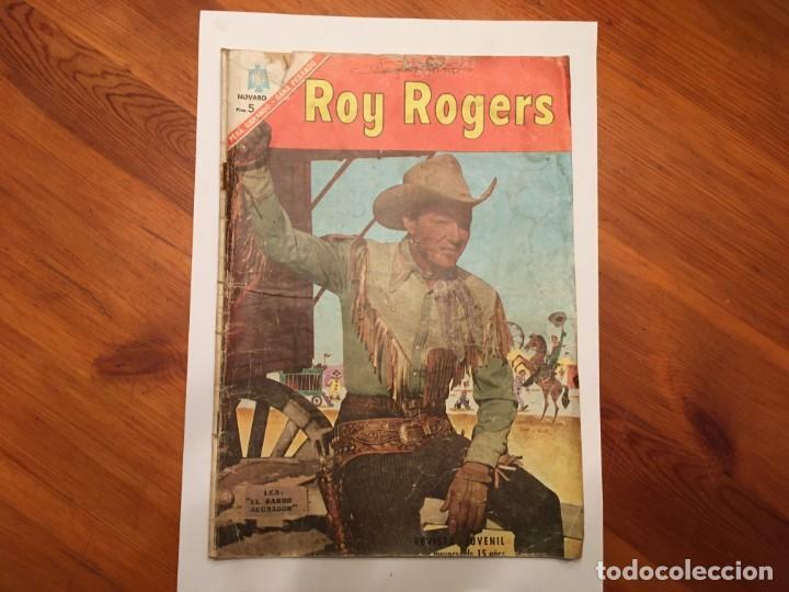 COMIC ROY ROGERS, AÑO 1966 --Nº 172 (Tebeos y Comics - Novaro - Roy Roger)
