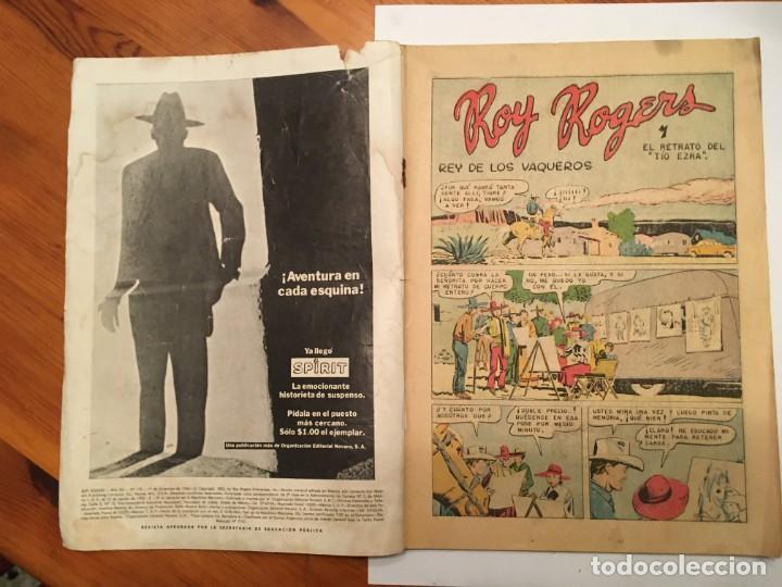 Tebeos: comic roy rogers, año 1966 --nº 172 - Foto 2 - 194507822
