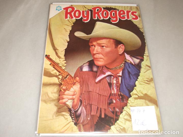 ROY ROGERS # 147 NOVARO NOVIEMBRE 1964 MUY BUEN ESTADO (Tebeos y Comics - Novaro - Roy Roger)