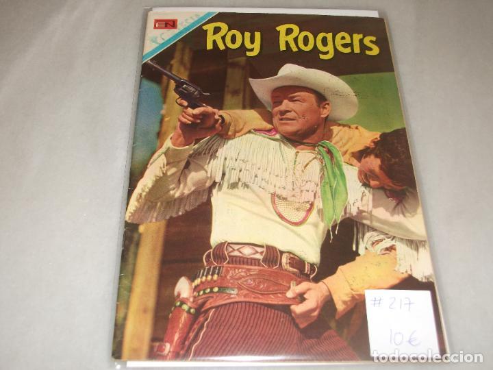 ROY ROGERS # 217 NOVARO ABRIL 1970 MUY BUEN ESTADO (Tebeos y Comics - Novaro - Roy Roger)