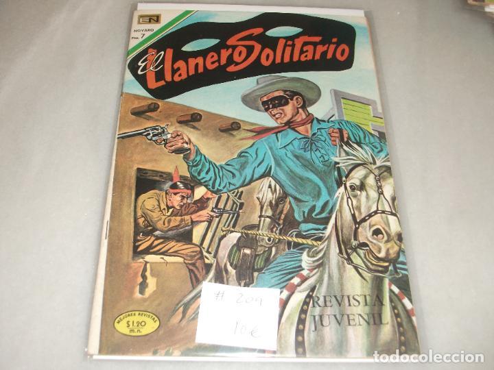 EL LLANERO SOLITARIO # 209 NOVARO MARZO 1970 MUY BUEN ESTADO (Tebeos y Comics - Novaro - El Llanero Solitario)