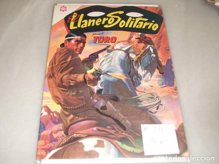 EL LLANERO SOLITARIO # 136 NOVARO JULIO 1964 MUY BUEN ESTADO (Tebeos y Comics - Novaro - El Llanero Solitario)