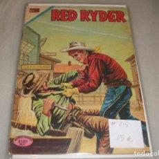 Tebeos: RED RYDER # 215 NOVARO DICIEMBRE 1969 MUY BUEN ESTADO. Lote 194534452