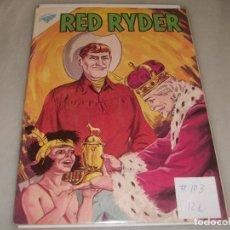Tebeos: RED RYDER # 103 NOVARO S E A MARZO 1963 MUY BUEN ESTADO. Lote 194534496