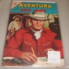 Tebeos: AVENTURA # 345 BUCK JONES NOVARO AGOSTO 1964 MUY BUEN ESTADO. Lote 194534592