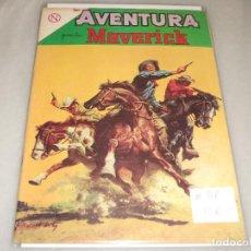 Tebeos: AVENTURA # 318 MAVERICK NOVARO FEBRERO 1964. Lote 194534636