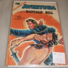 BDs: AVENTURA # 578 BUFFALO BILL NOVARO FEBRERO 1969 MUY BUEN ESTADO. Lote 194534806