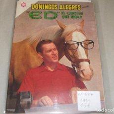 Tebeos: DOMINGOS ALEGRES # 537 MR. ED NOVARO JULIO 1964 MUY BUEN ESTADO. Lote 194535336