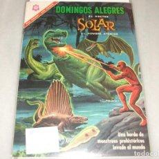 BDs: DOMINGOS ALEGRES # 650 SOLAR NOVARO SEPTIEMBRE 1966 MUY BUEN ESTADO. Lote 194535391
