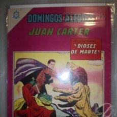Tebeos: DOMINGOS ALEGRES # 579 JUAN CARTER NOVARO MAYO 1965 MUY BUEN ESTADO. Lote 194535463