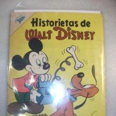 Tebeos: HISTORIETAS DE WALT DISNEY # 93 NOVARO S E A MARZO 1957. Lote 194577022