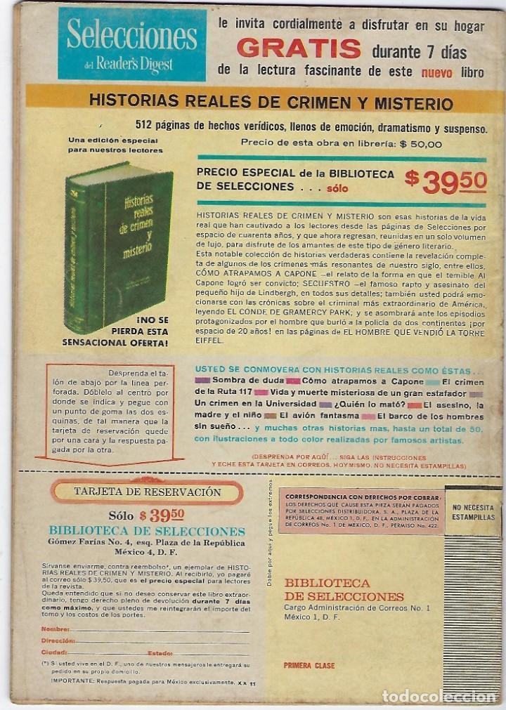 Tebeos: TV MUNDIAL:EL ADMIRABLE SEÑOR LIMPET - AÑO III - Nº 44 - 15 DE ENERO DE 1965 ** NOVARO MÉXICO *** - Foto 2 - 194577573