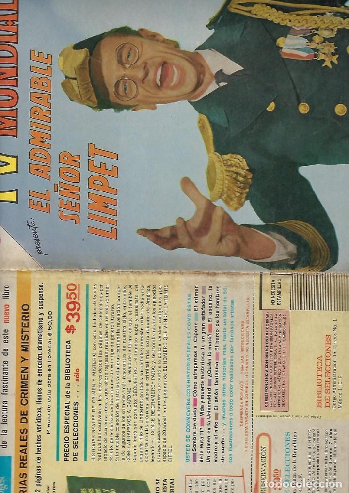 Tebeos: TV MUNDIAL:EL ADMIRABLE SEÑOR LIMPET - AÑO III - Nº 44 - 15 DE ENERO DE 1965 ** NOVARO MÉXICO *** - Foto 3 - 194577573
