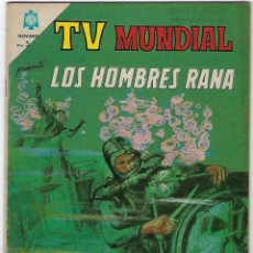Tebeos: TV MUNDIAL: LOS HOMBRES RANA - AÑO III - Nº 41 - 1º DE DICIEMBRE DE 1964 *** NOVARO MÉXICO ***. Lote 194577757