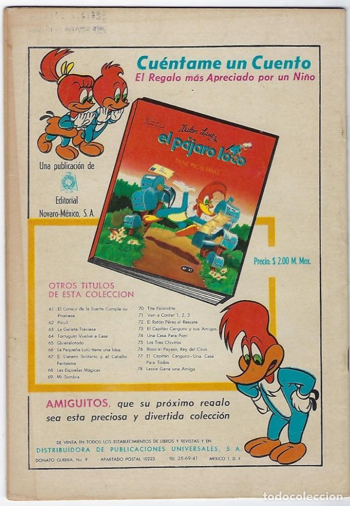 Tebeos: TV MUNDIAL: LOS HOMBRES RANA - AÑO III - Nº 41 - 1º DE DICIEMBRE DE 1964 *** NOVARO MÉXICO *** - Foto 2 - 194577757