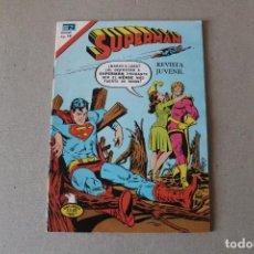 Tebeos: EDITORIAL NOVARO, SERIE AGUILA - Nº 2-1080 SUPERMAN - AÑO 1976. Lote 194577967