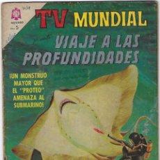 Tebeos: TV MUNDIAL: VIAJE A LAS PROFUNDIDADES - AÑO II - Nº 32 - 15 DE JULIO DE 1964 *** NOVARO MÉXICO ***. Lote 194578037