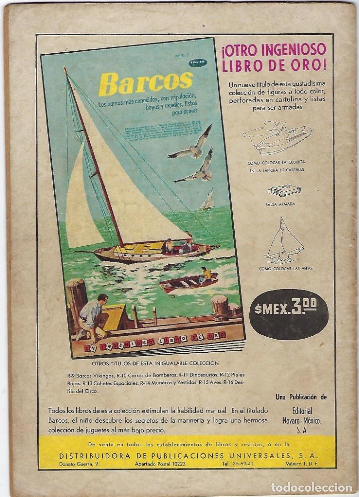 Tebeos: TV MUNDIAL: VIAJE A LAS PROFUNDIDADES - AÑO II - Nº 32 - 15 DE JULIO DE 1964 *** NOVARO MÉXICO *** - Foto 2 - 194578037