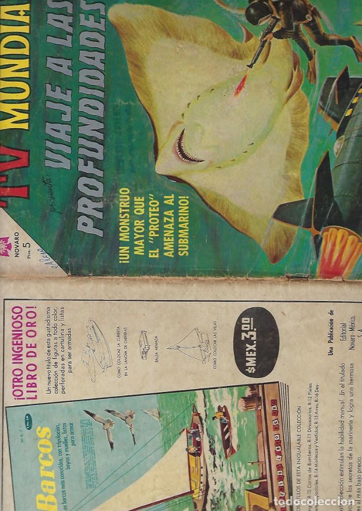 Tebeos: TV MUNDIAL: VIAJE A LAS PROFUNDIDADES - AÑO II - Nº 32 - 15 DE JULIO DE 1964 *** NOVARO MÉXICO *** - Foto 3 - 194578037