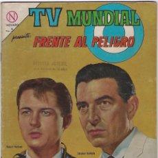 Tebeos: TV MUNDIAL: FRENTE AL PELIGRO - AÑO II - Nº 28 - 15 DE MAYO DE 1964 *** NOVARO MÉXICO ***. Lote 194578290