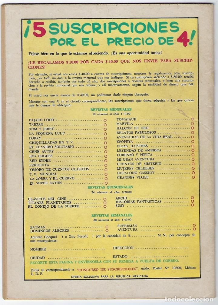 Tebeos: TV MUNDIAL: FRENTE AL PELIGRO - AÑO II - Nº 28 - 15 DE MAYO DE 1964 *** NOVARO MÉXICO *** - Foto 2 - 194578290