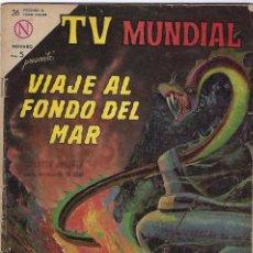 Tebeos: TV MUNDIAL: VIAJE AL FONDO DEL MAR - AÑO II - Nº 22 - 15 DE FEBRERO DE 1964 *** NOVARO MÉXICO ***. Lote 194578500