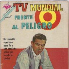 Tebeos: TV MUNDIAL: FRENTE AL PELIGRO - AÑO I - Nº 5 - 1º DE ENERO DE 1963 *** NOVARO MÉXICO ***. Lote 194579072