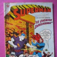 Tebeos: SUPERMAN 163 AÑO 1958 DE NOVARO BUEN ESTADO. C25. Lote 194609102