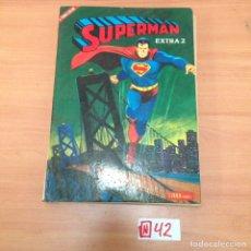 Tebeos: LIBRO COMIC. SUPERMAN EXTRA 2. NOVARO 1979. TAPA DURA. Lote 194636692