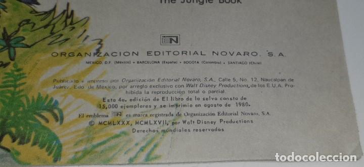 Tebeos: RECREOS DE WALT DISNEY Nº 19 : EL LIBRO DE LA SELVA - EDITORIAL NOVARO - AÑO 1980 - Foto 8 - 194658035
