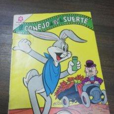 Tebeos: EL CONEJO DE LA SUERTE. EDICIONES NOVARO. AÑO XVI. Nº 241. JUNIO 1966.. Lote 194764070
