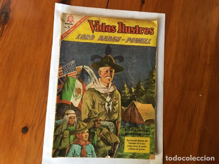 COMIC VIDAS ILUSTRES Nº 147 AÑO 1966 (Tebeos y Comics - Novaro - Vidas ilustres)