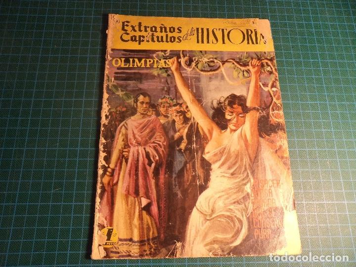 EXTRAÑOS CAPITULOS DE LA HISTORIA. Nº 23. EDICIONES LATINOAMERICANAS. MUY CASTIGADO. (Tebeos y Comics - Novaro - Otros)