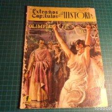 Tebeos: EXTRAÑOS CAPITULOS DE LA HISTORIA. Nº 23. EDICIONES LATINOAMERICANAS. MUY CASTIGADO.. Lote 194876391