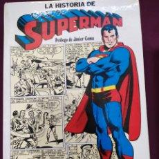 Tebeos: LA HISTORIA DE SUPERMAN . ED. NOVARO, CAIXA D'ESTALVIS.1979. Lote 194890597