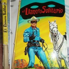 Tebeos: EL LLANERO SOLITARIO ED. LAIDA 1966 PASTA DURA 92 PAGINAS . Lote 195050756