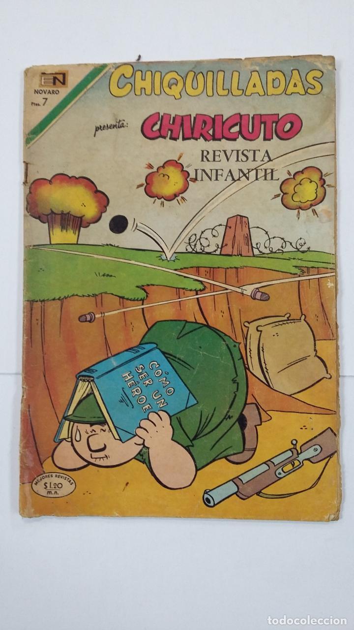 CHIQUILLADAS Nº 278 - CHIRICUTO - AÑO 1970 - EDITORIAL NOVARO. TDKC49 (Tebeos y Comics - Novaro - Otros)
