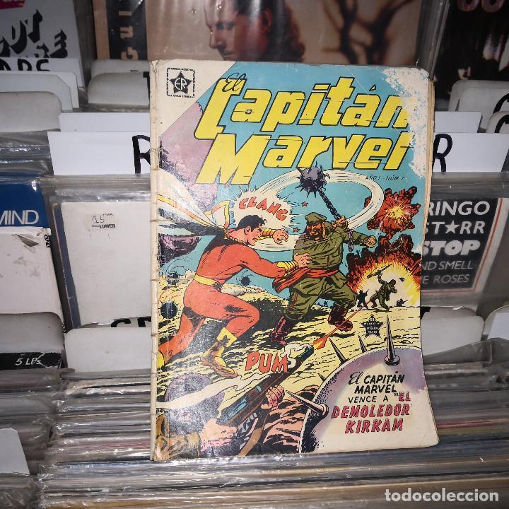 CAPITAN MARVEL NUMERO Nº 7 AÑO 1953 ( ER ) NOVARO (Tebeos y Comics - Novaro - Otros)