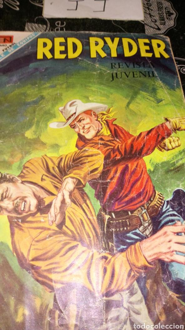Tebeos: Red ryder 189 no aro ver fotos estado lomo desgastado - Foto 3 - 195241825