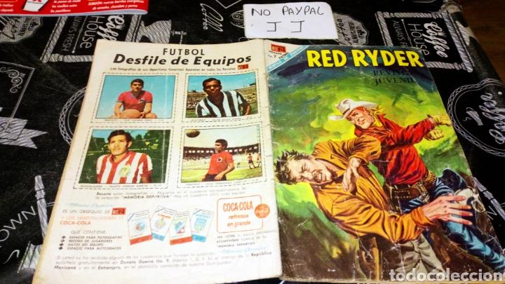 RED RYDER 189 NO ARO VER FOTOS ESTADO LOMO DESGASTADO (Tebeos y Comics - Novaro - Red Ryder)