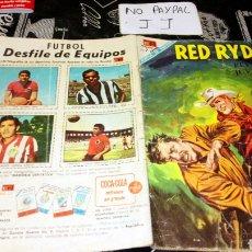 Tebeos: RED RYDER 189 NO ARO VER FOTOS ESTADO LOMO DESGASTADO. Lote 195241825