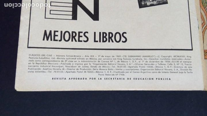 Tebeos: BEATLES EL SUBMARINO AMARILLO - Foto 5 - 195247812